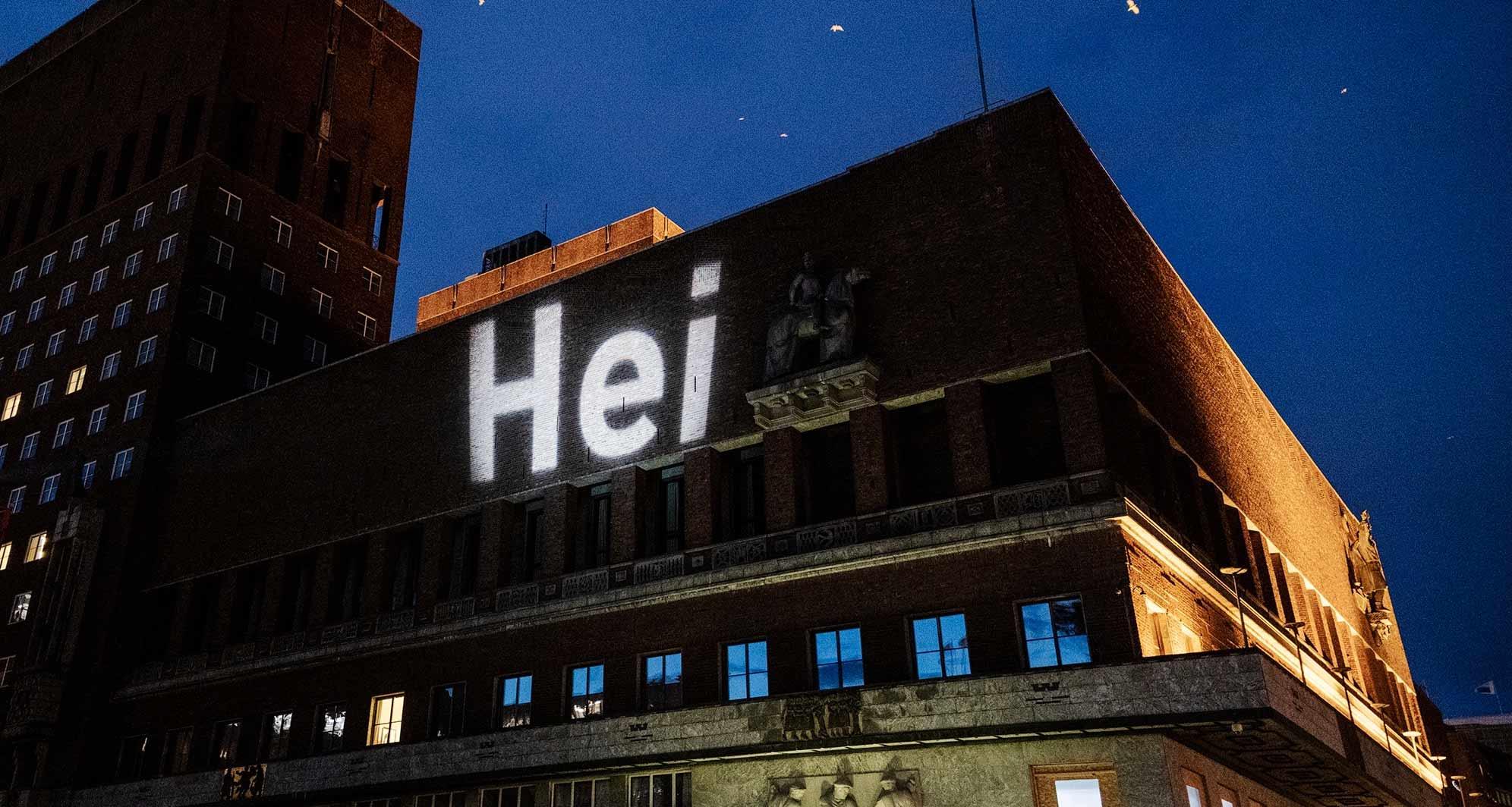 Bilde av Hei kampanjen på Rådhuset
