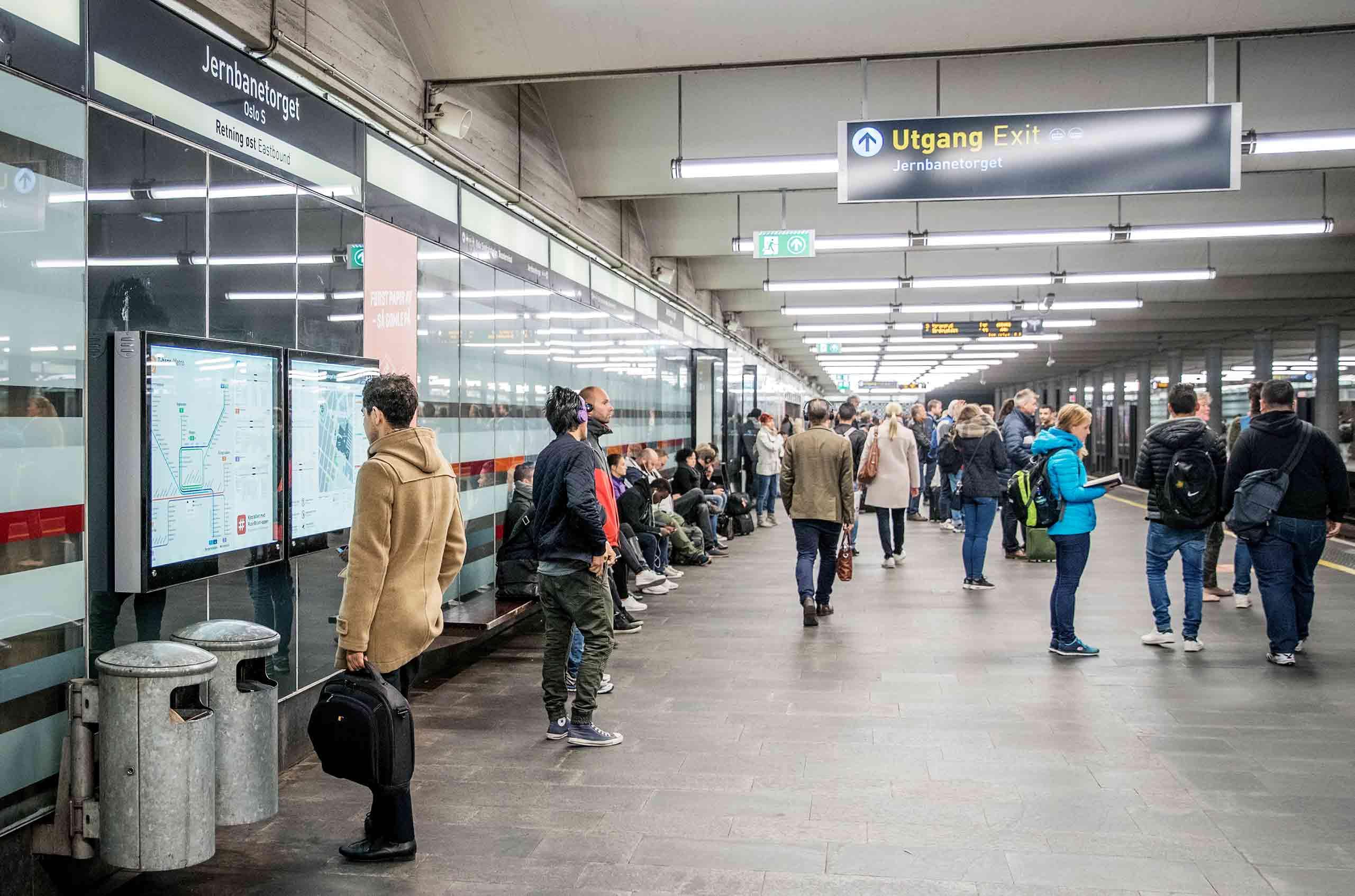 Bilde av Jernbanetorget stasjon